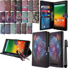 For ZTE ZMAX Z970 Flip Wallet LEATHER Skin POUCH Case Phone Cover + Pen