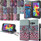 For Samsung Galaxy Core Prime G360 Flip Wallet LEATHER POUCH Case Cover + Pen