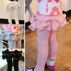 Girls Kids Skinny Slim Skirt Pants Leggings Culotte Pants 2-7Y Trousers Clothes