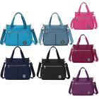 Women Tote Vintage Handbag Shoulder Messenger Bag Side Pocket Waterproof Holiday