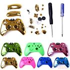 Chrome Glossy Housing Shell Mod Button Tool Kit for Xbox One Wireless Controller