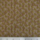 Free Spirit PROMENADE by LE ROUVRAY Brown Floral Cotton Quilting Fabric 4 yds