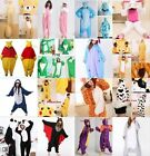NEW Adult Kids Unisex Animal Pyjamas Costume Cosplay Kigurumi Onesie Sleepwear
