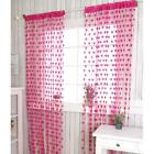 Hot Heart Line Tassel String Door Curtain Window Room Divider Curtain Valance-LD