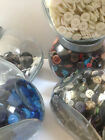 ASSORTED BUTTONS - MASCULINE DARK mixes various - Buy 3 bags, Get 4th FREE!