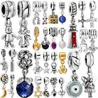 Fashion Charms Beads fit Genuine 925 Sterling European Silver Bracelet Necklace