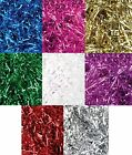 METALLIC SHRED - 28g Packs - Choice of Colour (Party/Wedding/Gift/Filler/Paper)