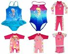 Girls Kids Swimwear Swimsuit Tankini Frozen Princess Elsa Anna UV Sun Protection