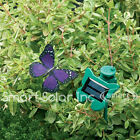 FLUTTERBY, SOLAR POWERED FLYING BUTTERFLY-great outdoor decorative! 3 Colors