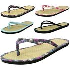 Bamboo Sandals Flip Flops Thongs Womens Comfort Flats Best Light Summer Shoes