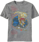 LEGO Chima Cuatro Leones Youth Kids Heather Grey T-Shirt