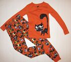 NWT CRAZY 8 2pc PAJAMAS Halloween Cat PJs by Gymboree Gymmies FREE USA SHIPPING