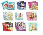 20 LUNCH SERVIETTEN DISNEY PRINZESSINEN Designs Geschirr/Party/Kinder/Geburtstag
