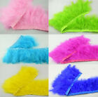 Marabou feather fringe trim 12 +color Crafts / Costume/Sewing/Millinery 1/5 yard