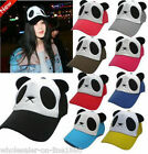 NEW Unisex Baseball Cotton Hat Cap Snapback Panda Fashion Adjustable Dimension