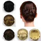 New Fashion Hair Bun Chic Women's Short Straight Smooth Hairpiece Daily Wear