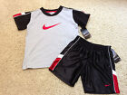 Boys Size  2T 3T 4T NIKE SHORTS & S/S TOP SET OUTFIT NWT $40 MSRP - You Pick
