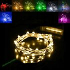 2M 20 LED Battery String Fairy Light Waterproof Bendable Craft Christmas Wedding