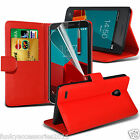 Leather Book Wallet Phone Case Cover?Pen?SP for Vodafone Smart Prime 6