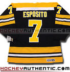 PHIL ESPOSITO BOSTON BRUINS CCM VINTAGE AWAY JERSEY BLACK NHL HOCKEY 1970
