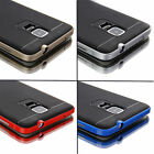 Black Luxury Shockproof Slim Soft Hard Case Cover For Samsung Galaxy Note 4 IV