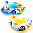 KIDS SWIMMING TRAINER SEAT RING Toddler Floating Inflatable Water Aid 2 Color