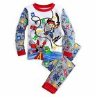 Disney Store Jake And The Never Land Pirates 2PC Tight Fit Pajama Set Boy 5 6 7