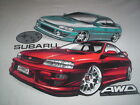 SUBARU T SHIRT MENS  #CS34