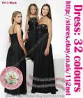 3yrs to 12yrs Long Wedding Evening Formal Party Ball Gown Prom flower girl Dress