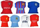 OFFICAL FOOTBALL TEAM -  HOME KIT CREST CUSHION PILLOW BED ROOM KIDS - GIFT XMAS