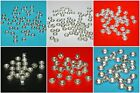 WHOLESALE LOTS 4mm, 5mm, 6mm Sterling Silver 925 Rondelle Spacer Beads