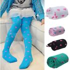 Children Love Even Foot Stretch Jacquard Velvet Stockings Dance Socks Tide