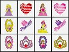 24 PRINCESS Party Pack of Children's Temporary Tattoos