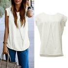 Sexy Women Vest Sleeveless Shirt Blouse Summer Casual Ladies Loose Tops
