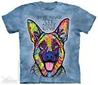 DOG'S NEVER LIE ADULT T-SHIRT THE MOUNTAIN DEAN RUSSO