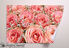 PINK ROSES GIANT WALL ART POSTER A0 A1 A2 A3