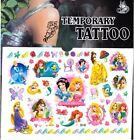 LITTLE PRINCESS DISNEY (c) Temporary Tattoos Brand New and Fully Sealed