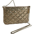 Whiting and Davis Quilted Mesh Crossbody 3 Colors Cross-Body Bag NEW