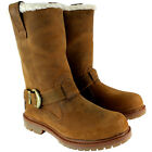Womens Timberland Nellie Pull On Fur Lined Trim Buckle Winter Boot US Sizes 5-10