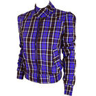 Womens Fenchurch Purple Check Annie Plaid Jacket  B133