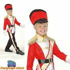 KIDS QUEENS ROYAL GUARD TOY SOLDIER - Age 3-10 - Boys Child Fancy Dress Costume
