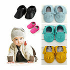 Fashion Infant Kids Boy Girl Shoes Tassel Soft Sole Leather Toddler Shoes New