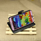 For Galaxy Note 3 Fashion Stand Wallet PU Leather Cover Case Card Holder