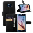 For Galaxy S6 Fashion Flip Stand Wallet PU Leather Cover Case Card Holder