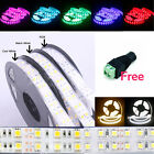 Wholesale 12V 5M 5050/3528 SMD Double Row 600/1200 LED Flexible Strip Home Light