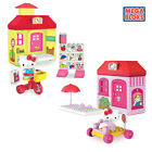 Mega Blocks Hello Kitty Girls Construction Playset Includes Collectable Figure