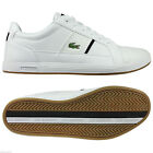 LACOSTE MENS EUROPA CROC SPM TRAINERS WHITE SIZE 7 8 9 10 11 12 SHOES SNEAKERS