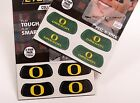 NEW Eyeblack OREGON DUCKS 2-pair Pack GREEN OR BLACK 4 stickers for Eye/Face