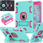 Shockproof Heavy Duty Rubber With Hard Stand Case Cover For iPad Mini 1/2/3 New
