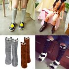 Fashion Baby Children Girls Fox Pattern Socks Soft Cotton Knee High Hosiery New